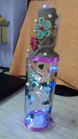 Led lighting bottle