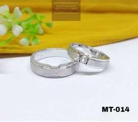 Cincin Nikah Palladium - Mataram Jewellery