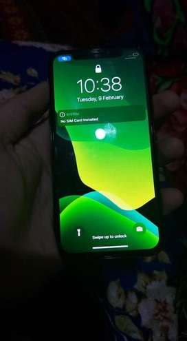Iphone x 256gb non PTA bettry health 95%