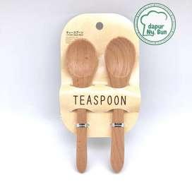 DAISO JAPAN- Coffee Spon - sendok kopi - Mini sendok kayu - coffee spo