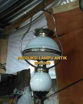 Produksi Lampu Kuningan Antik Klasik Gantung hias Joglo Gebyok Gasebo