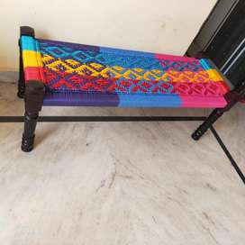 Wooden sheesham charpai 1 years warranty cash on delivery
