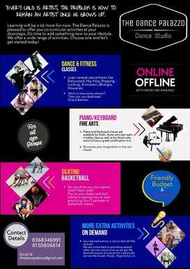 Dance/Piano/Fitness/Guitar/Drawing classes