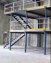 konstruksi baja berat untuk  pabrik , kantor, dll