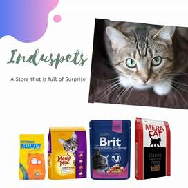 Cat and Dogs Food Available