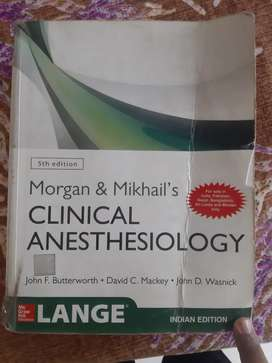 MORGAN &MIKHAILS CLINICAL ANESTHESIOLOGY