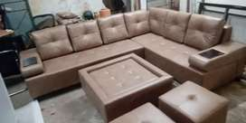 Comfortable sofa set for home