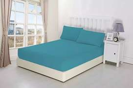Fitted bedsheets in export quality fabric single,double and king size