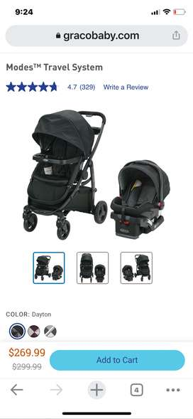 Graco Baby Car Seat from USA