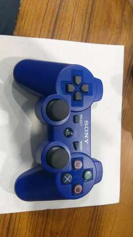 Stik ps3 werles warna biru  bisa order via gojek