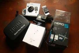 BU GoPro Hero 5 Black Komplit Fullset