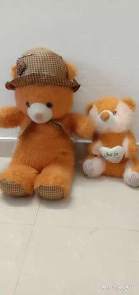 Two teddy bear