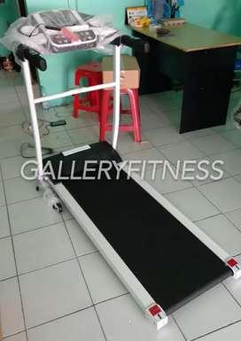 Treadmill listrik two in one