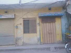 Commercial House with Shops For Sale