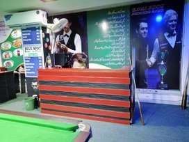Blue spot snooker club In Bahria town civic center phase 4