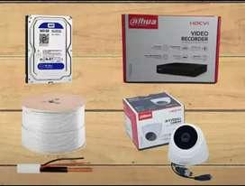 PERLENGKAPAN CCTV FULL HD, BERKUALITAS