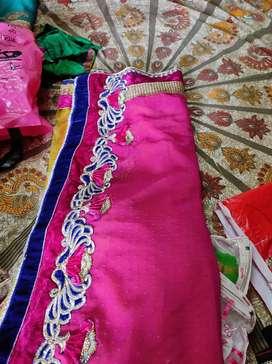 Old saree material