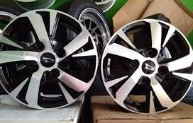 Toko Velg Xenia Sporty R14 Black Polish