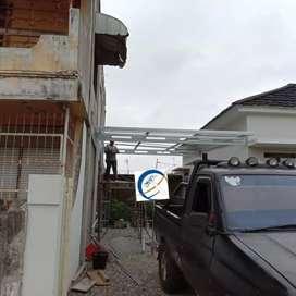 Kanopi baja ringan dan rangka atap baja ringan super murah berkualitas