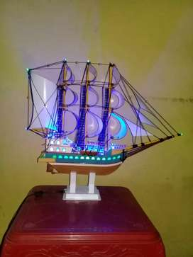 Miniatur Kapal Layar, Lampu tidur, Lampu gantung dll