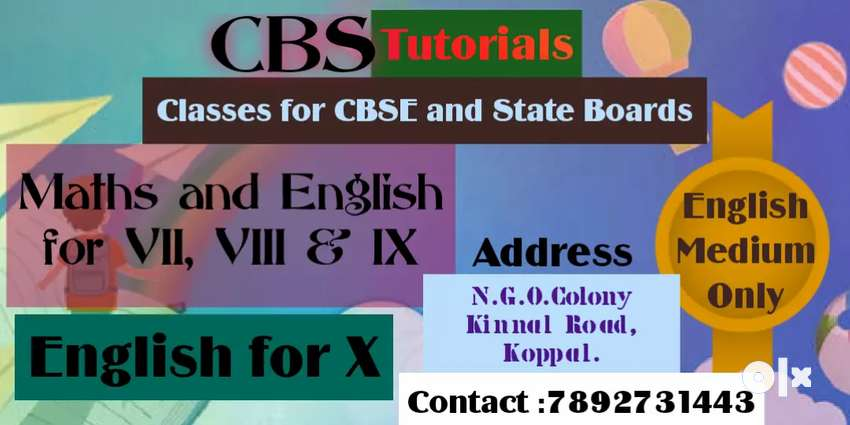 CBS Tutorials (Coaching Classes for CBSE and State Boards)