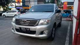 Toyota Hilux 2.5 Diesel Single Cabin Pick Up Silver Cakep Siap Pakai