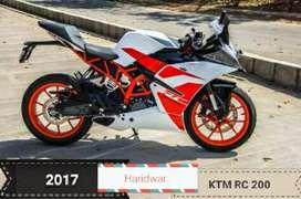 New condion ktm rc 2017