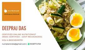 Certified Nutritionist for Online Diet Plan & Fat-loss Program