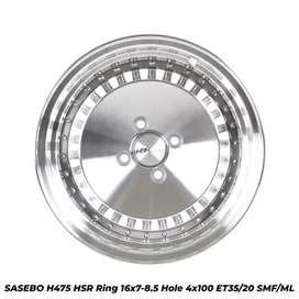 Velg mobil SASEBO H475 HSR R16X7-85 H4x100 ET35-20 SMF-