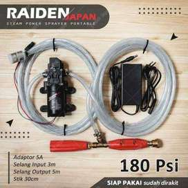 Mesin Cuci Motor Mobil AC Mini Portable RAIDEN Jepang