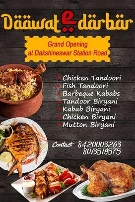 Biryani,tandoor, Indian cook needed urgently at Dakshineswar