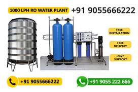 Mineral Water Plant (1000 Litres per Hour)
