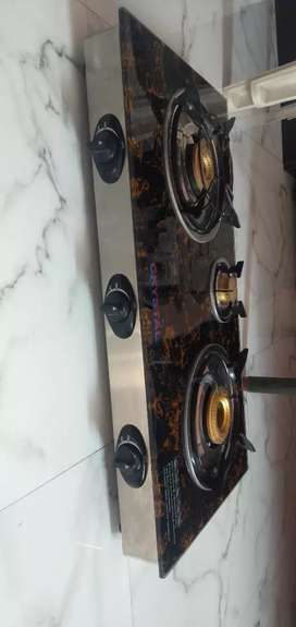 new brand Gas Stoves crystal cook top