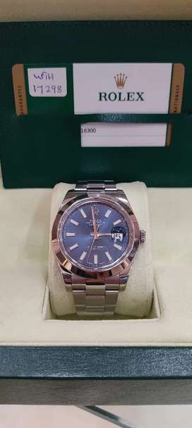 Imran shah Rolex Dealer Rolex Datejust 41mm watch avail n Watch clinic
