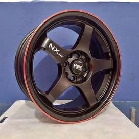 Velg Racing HSR KAILOLO JA157 R16 Terbaru Cocok Untuk Baut 4 Lebar 7