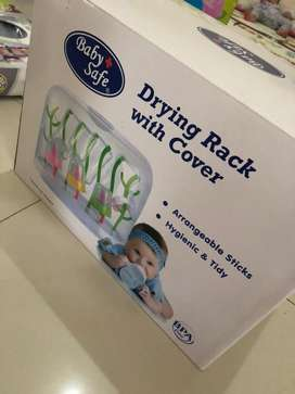 drying rack with cover baby safe