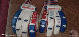 Bdm cricket gloves