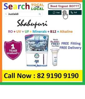 Shahupuri AquaGrand RO Water Purifier Water Filter AC dth bed car TV A