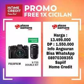 Fujifilm X-T20 Kit 15-45mm + 50-230mm Promo Free 1x Cicilan