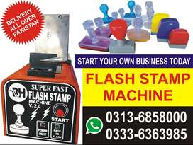 FLASH STAMP  MACHINE -  FLASH LAZER STAMP MACHINE