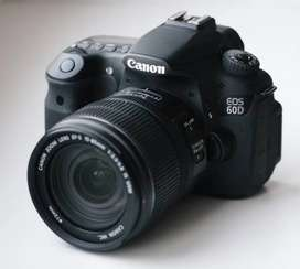 Canon 60D with 18-135mm in a very good condition