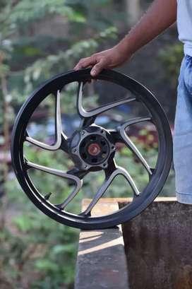 dominor front alloy wheel