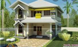 2 bed room one kitchen one bathroom house available for rent