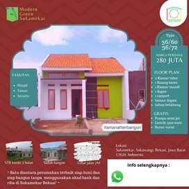 Rumah Siap Huni Cicilan 3 Jtaan di Bekasi Tanpa Bank