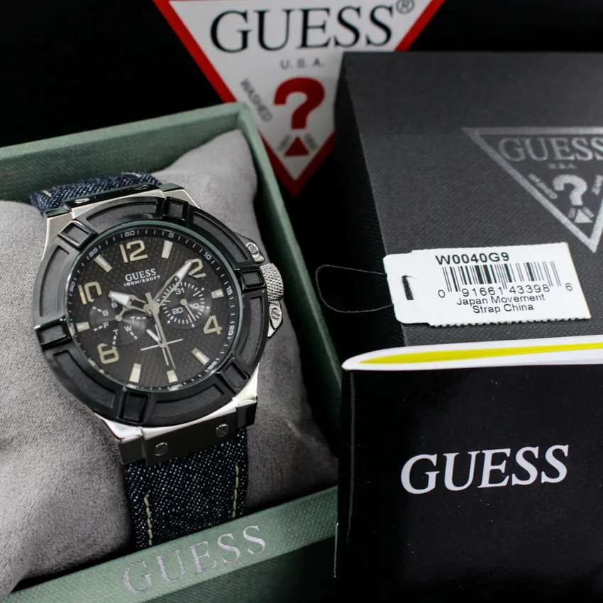 Jam Guess W0050G9 Authentic 0