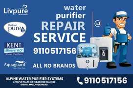 Repair and Service -RO Water Purifier