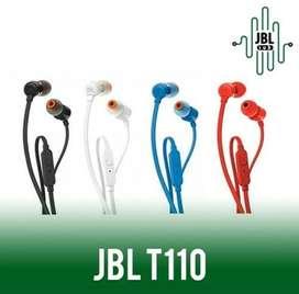 Headset Original JBL T110 Earphone Handsfree Garansi Resmi PT IMS