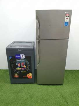 I'd 0070Samsung doubledoor refrigerator with whirlpool washing machine