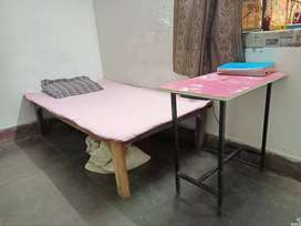 Wooden takhat & study table