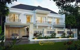 Jasa Arsitek Jambi Desain Rumah 414m2 - Emporio Architect